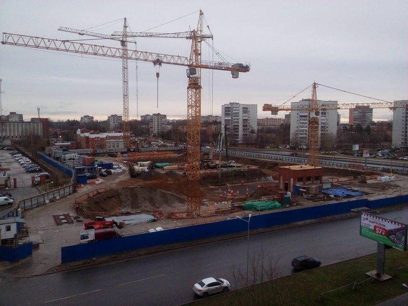 Около 1,5 млн квмнедвижимости планируют построить насевере столицы