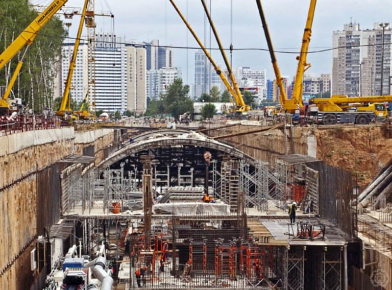 Шесть станций планируется построить набудущей Бирюлевской линии метро