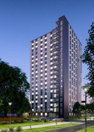 18-ти этажное общежитие для студентов РУДН. Проектное объединение УНИКУМ