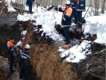В одном из столичных МФК произошло локальное обрушение грунта