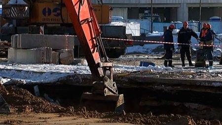 Что произошло сегодня во время стройки столичного метро