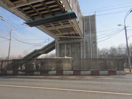В какую сумму обойдется Москве надземный переход через проспект Андропова