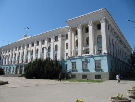 Какой ущерб нанесен Крыму при ремонте здания правительства региона