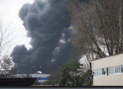 Что стало очагом возгорания при пожаре в промзоне Подольска