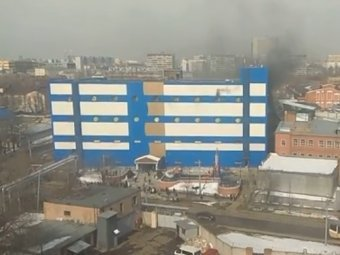Пожар в московском ТЦ – есть погибшие
