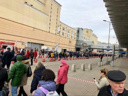 Названа причина эвакуации Курского вокзала в Москве