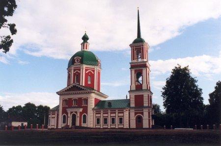 Церкви в усадьбе Тютчева, построенной КНАУФ, исполнилось 15 лет