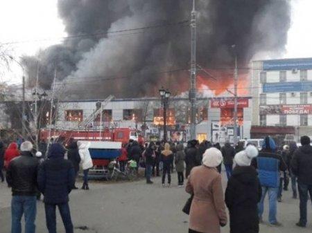 Названа причина пожара в ТЦ Архангельска