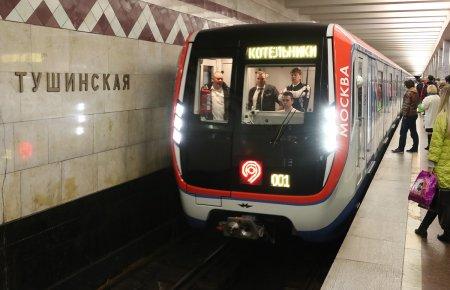 Власти сообщили о замене всех поездов на фиолетовой линии метро Москвы