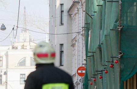 Сколько времени займет демонтаж рухнувшего здания в центре Москвы