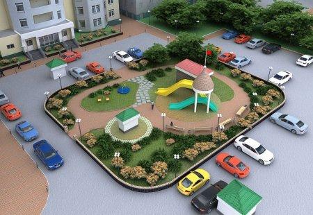 Сколько дворов за год благоустроят в Подмосковье