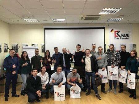 Учебный центр profine RUS продолжает серию тренингов для партнеров в Санкт-Петербурге