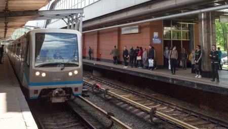 В Москве частично закрыли платформу метро «Кунцевская»