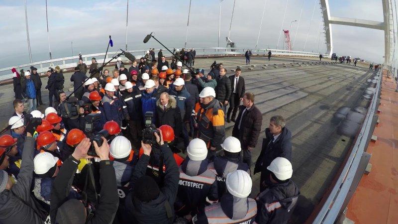 СКР возбудил уголовное дело вотношении корреспондента , призывавшего «взорвать Крымский мост»