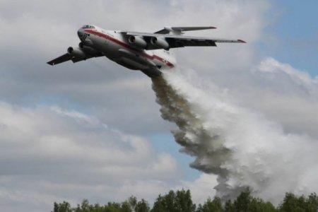 Авиация МЧС потушила серьезный пожар в одном из районов Хабаровска