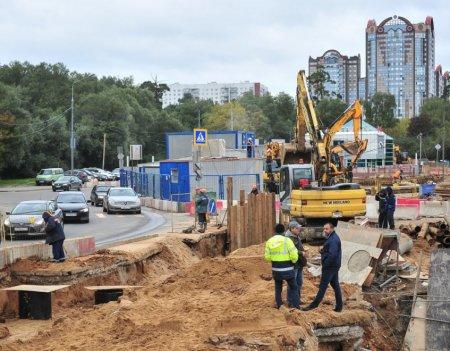 На БКЛ метро строят новую станцию