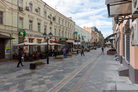 Названа стоимость жилья на пешеходных улицах Москвы