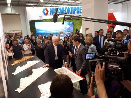 В столице началась международная выставка архитектуры и дизайна АРХ Москва
