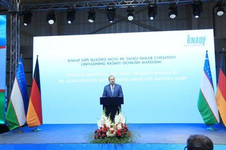 «КНАУФ» планирует миллионные инвестиции в проект в Узбекистане