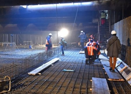 Запущено строительство одной из станций БКЛ метро