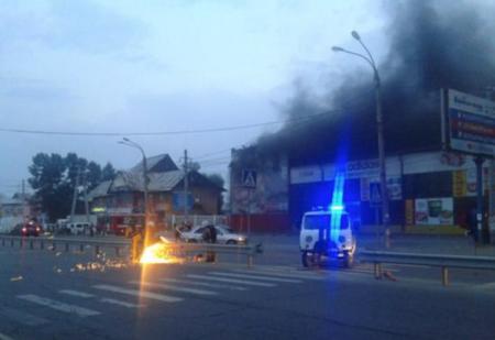 Названо число пострадавших детей при пожаре в иркутском ТЦ