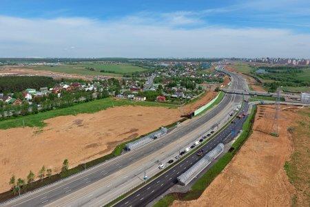 Когда закончат реконструкцию участка Калужского шоссе до ЦКАД