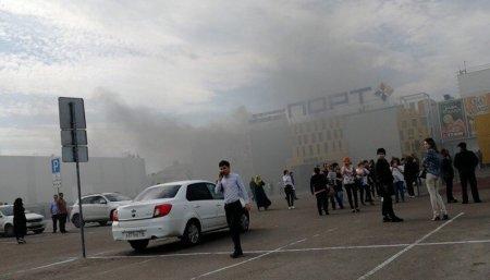 Какие версии пожара в казанском ТЦ рассматривают в МЧС