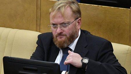 Милонов просит Мутко организовать спецкомиссию по реновации Петербурга