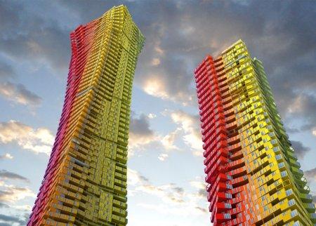 На севере столицы построят два небоскреба