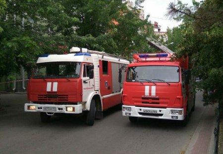 Жилая четырехэтажка загорелась в Ростове-на-Дону возле фан-зоны ЧМ-2018