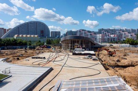 Как изменят парк в Москве на Ходынском поле