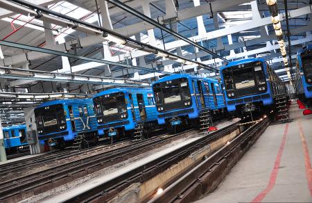Названы сроки сдачи метродепо «Южное» в Петербурге