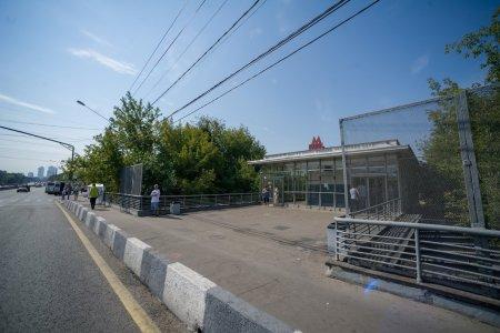 Закрывается участок Филевской ветки метро Москвы