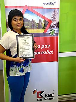 Партнер profine RUS – первый производитель окон в России, прошедший экологическую сертификацию!