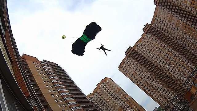В РФ разработали необычайный парашют «Шанс»