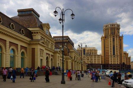 Павелецкий вокзал в столице полностью перестроят