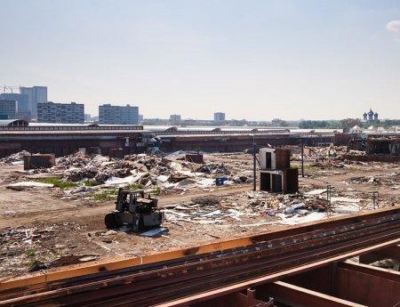 ГК «ПИК» строит жилье реновации на месте «Черкизона»