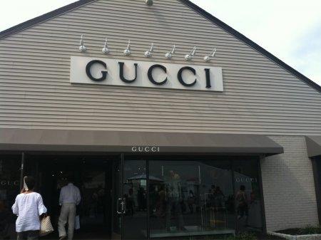 В России откроется первый аутлет  Gucci