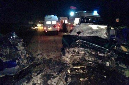 На трассе в Крыму произошло масштабное ДТП