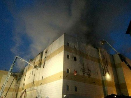 Потерпевшим в ТЦ «Зимняя вишня» угрожали пожарные