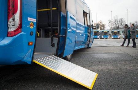 Московский автопарк увеличится на 768 автобусов нового формата
