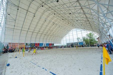 В Петербурге появится первая в стране арена для пляжного футбола