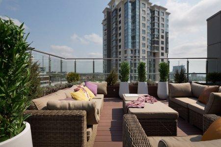 Названа стоимость наиболее доступной квартиры с террасой в Москве