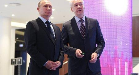 Путин лично посетил МУФ и осмотрел стенд Москвы