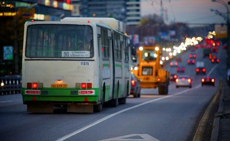 Соцавтобусы пустят на выделенные полосы столицы