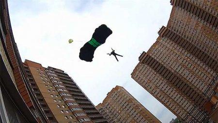 «Ростех» изобрел парашют для эвакуации из небоскребов