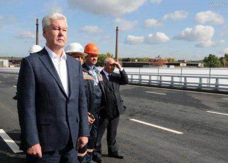 Собянин открыл для автомобилистов разворотный тоннель на Калужском шоссе