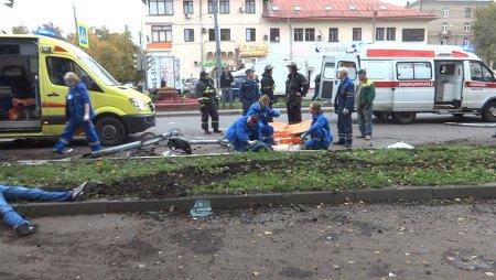 Трех человек сбили на тротуаре в Новой Москве