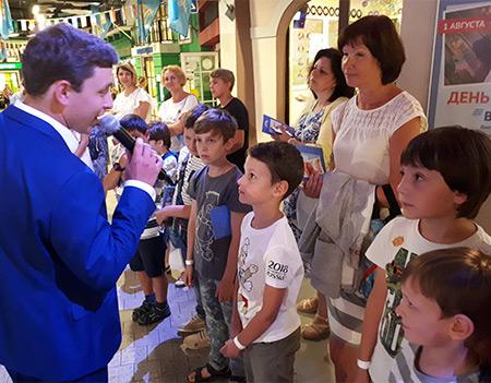 Минстрой России наградил самых маленьких строителей