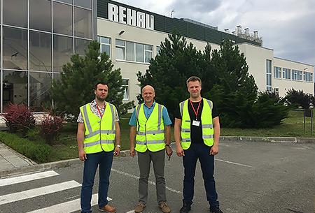 Завод REHAU в Гжели открыл свои двери для партнеров из Красноярска